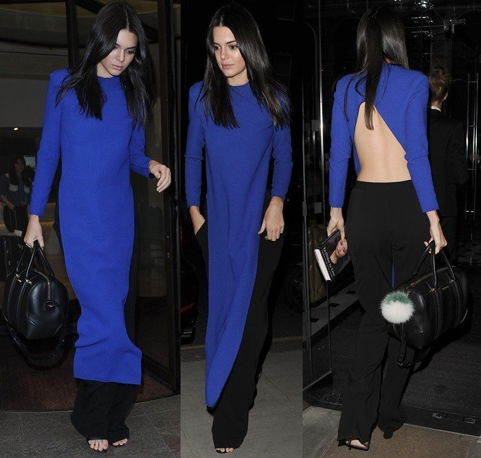 Cara Delevingne and Kendall Jenner leaving their hotels