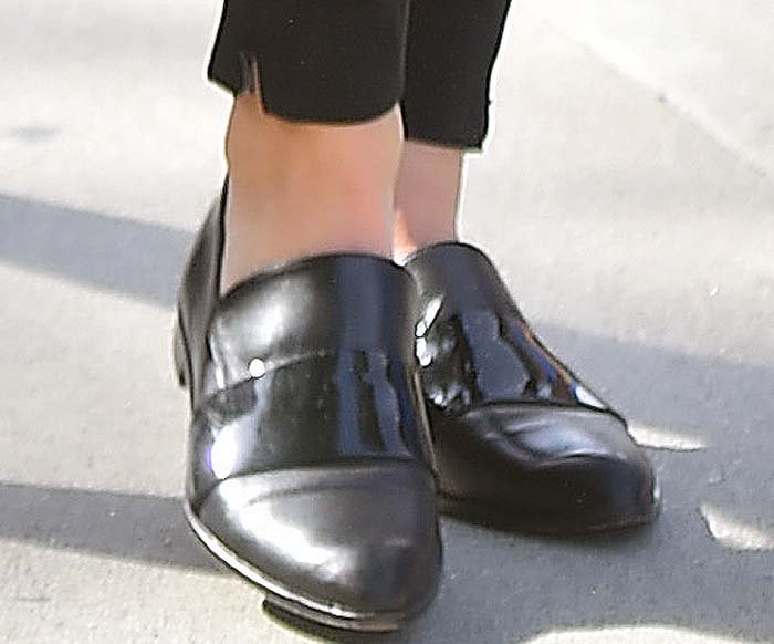Kendall Jenner's Honour loafers from Camilla and Marc