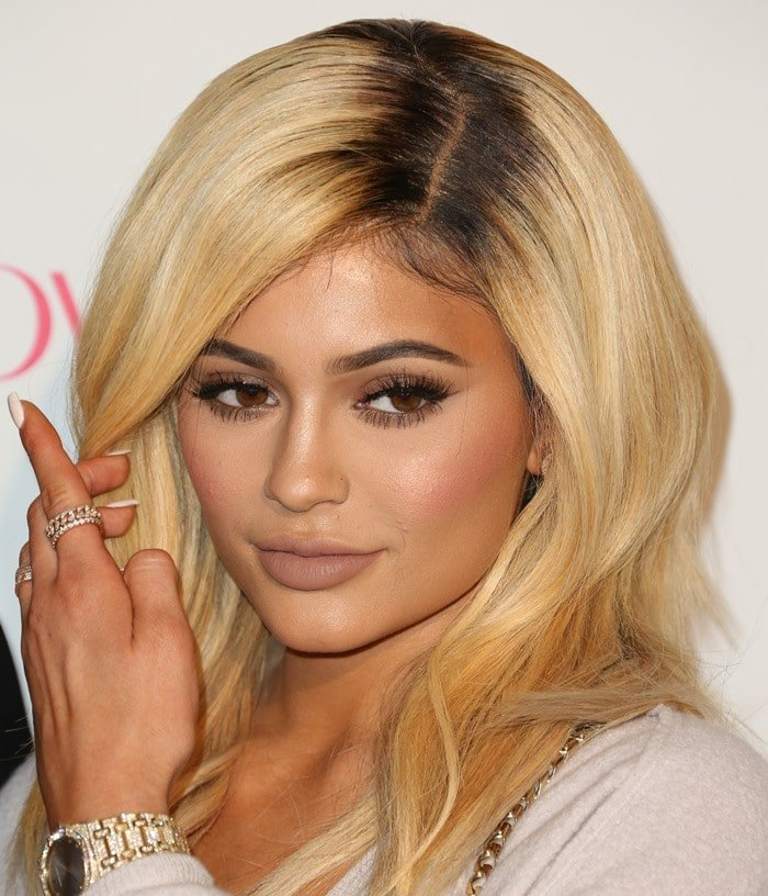 Kylie Jenner did not get the memo to wear all black