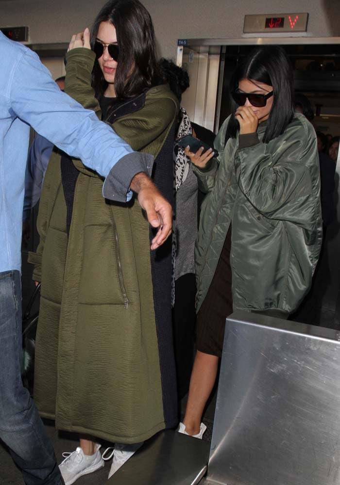 Kylie Jenner LAX Celine 4