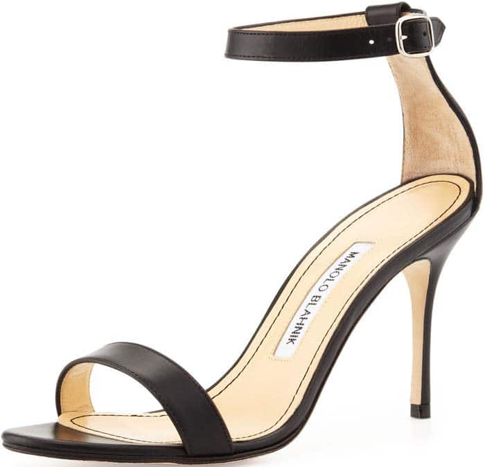 Manolo Blahnik Chaos Leather