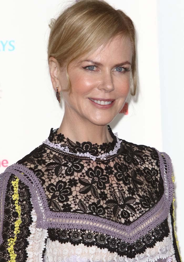 Nicole Kidman attends the Women of the Year Awards 60th Anniversary Lunch in London