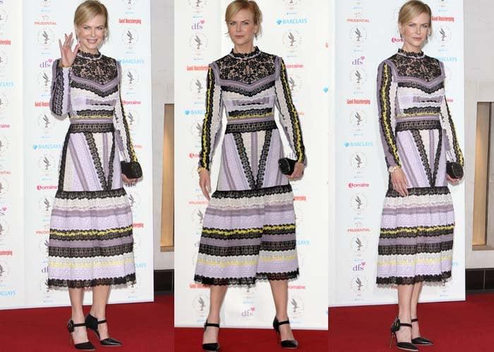 Nicole Kidman Women of the Year Rupert Sanderson 2