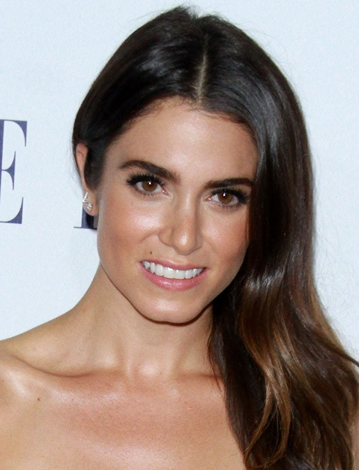 Wavy-haired Nikki Reed attends the 22nd Annual Elle Women in Hollywood Awards