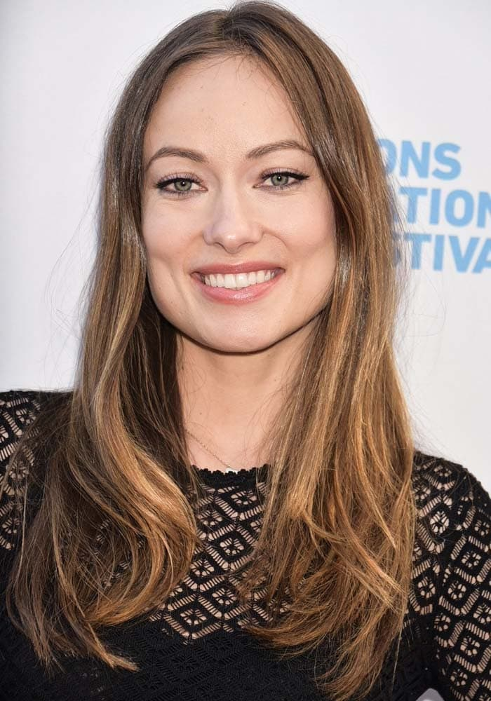 Olivia Wilde at the Hamptons International Film Festival for the premiere of her film 'Meadowland' in East Hampton on October 10, 2015