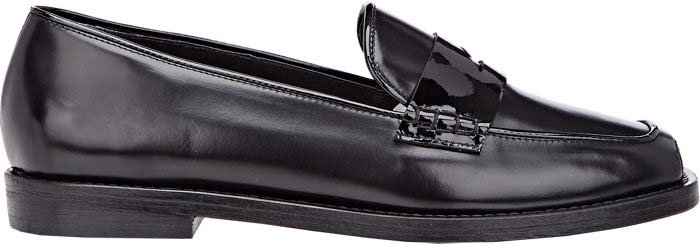 Opening Ceremony Mixed Material Penny Loafers
