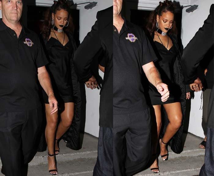 Rihanna MaMa Manolo Blahnik 2