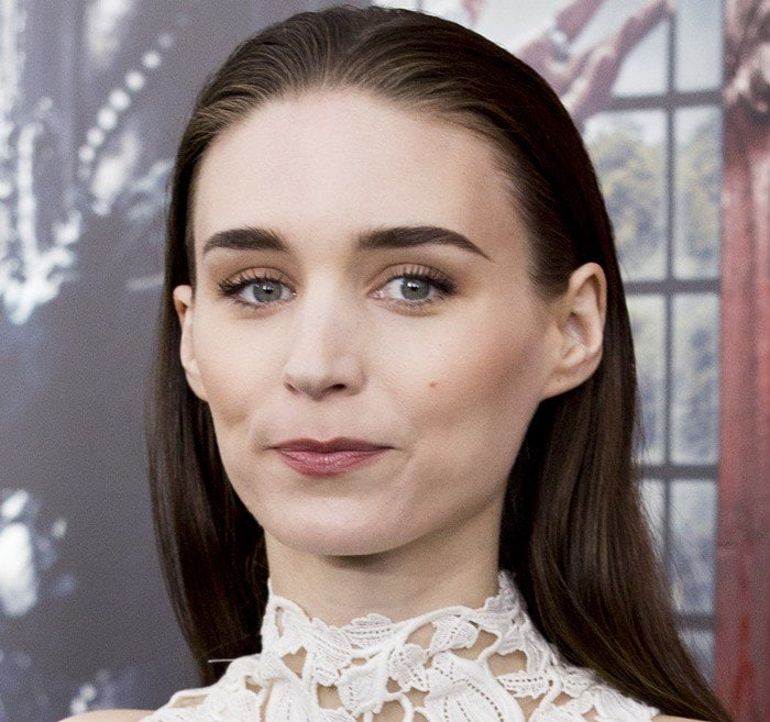 """Rooney Mara attends the premiere of her new movie """"Pan"""""""