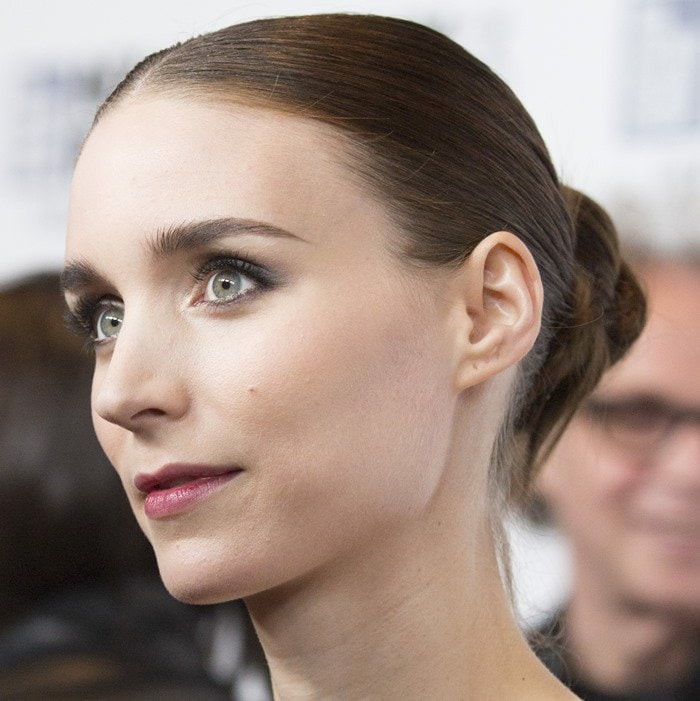 "Rooney Mara attends the New York Film Festival premiere of her new movie ""Carol"""
