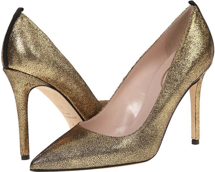 """SJP by Sarah Jessica Parker """"Fawn"""" in Oro Liberty Nappa"""