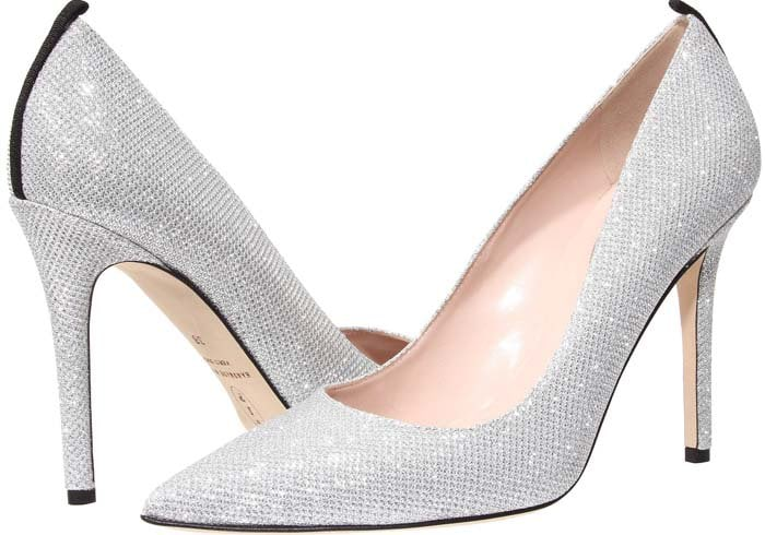 "SJP by Sarah Jessica Parker ""Fawn"" in Silver Luminor"