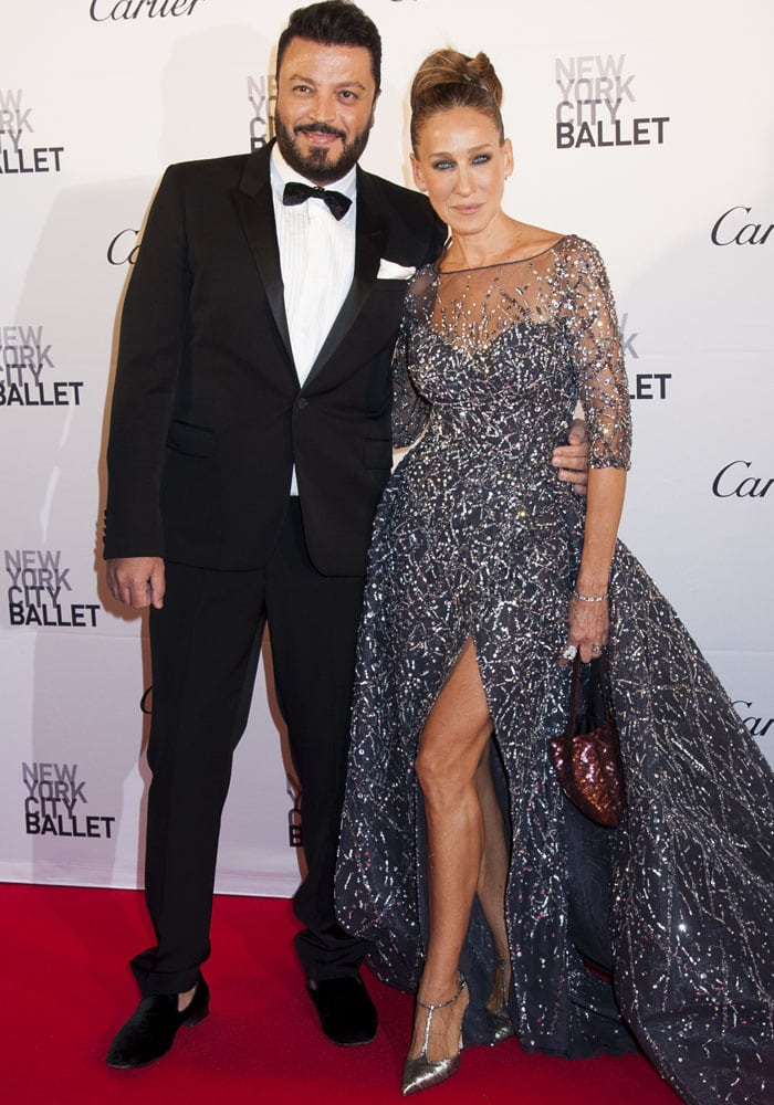 Sarah Jessica Parker and Zuhair Murad attend the 2015 New York Ballet Fall Gala together