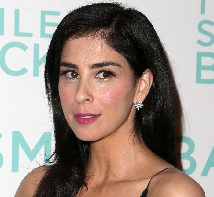 "Sarah Silverman attends the premiere of ""I Smile Back"""