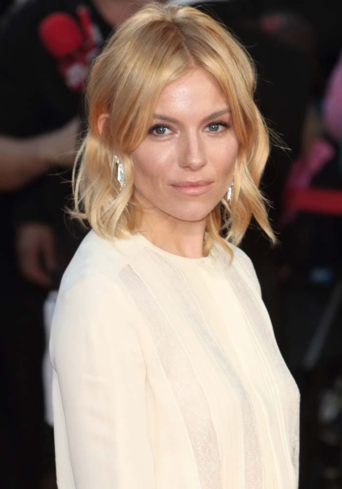 Sienna Miller attends Eva Cavalli's VIP birthday party after hitting the red carpet for the BFI London Film Festival