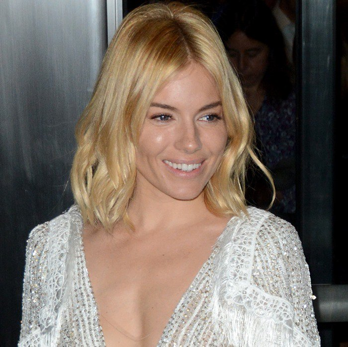 """Sienna Miller attends the premiere of """"Burnt"""""""