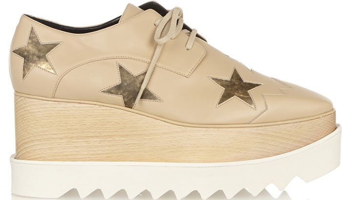 Stella McCartney Elyse Star Platform Shoes