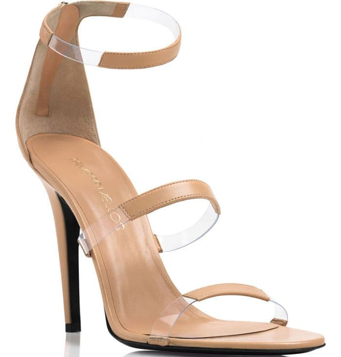 Tamara Mellon Frontline Sandals Nude