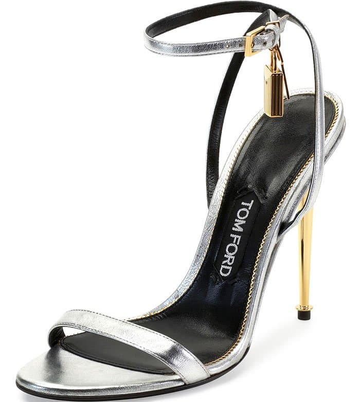 Tom-Ford-Metallic-Silver-Ankle-Lock-Sandals