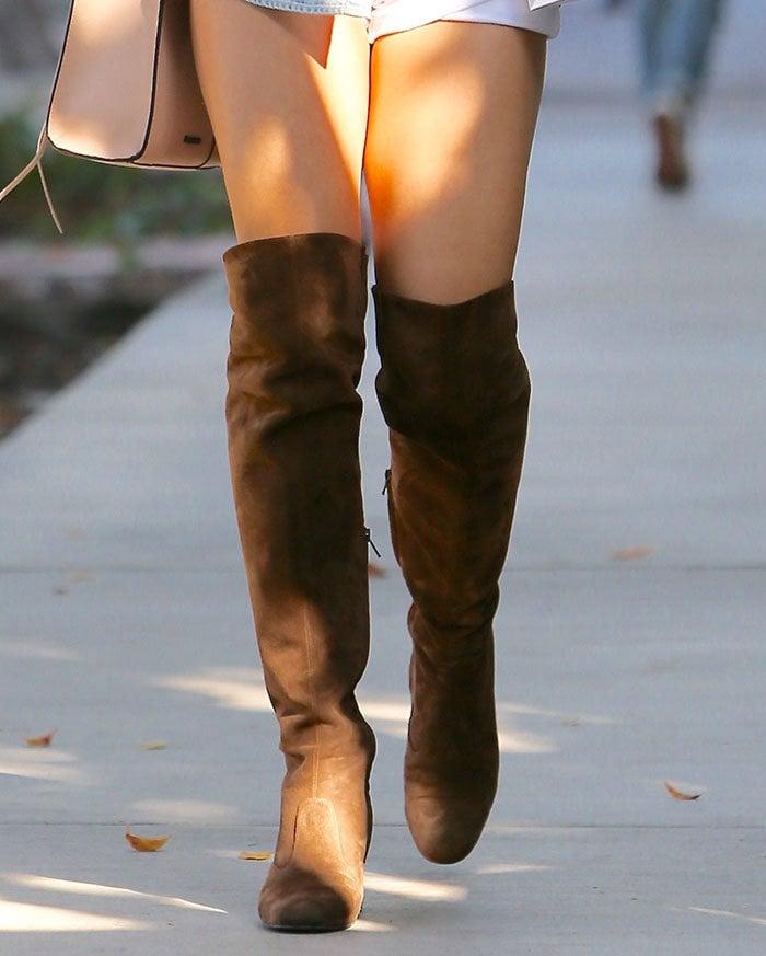 Vanessa-Hudgens-Saint-Laurent-Babies-Over-the-Knee-Boots