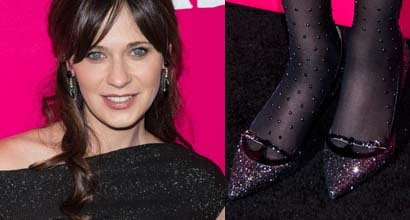 Zooey Deschanel Boots