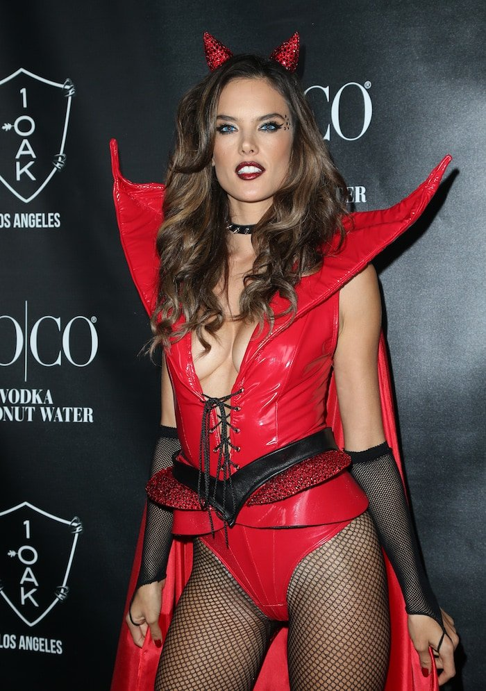 VO|CO presents Alessandra Ambrosio's Heaven and Hell Halloween party