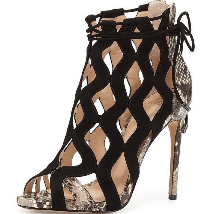 Alexandre-Birman-Loretta-Python-&-Suede-Cutout-Sandals