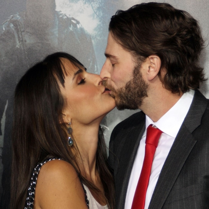 Pictured kissing in 2009, Andrew Form and Jordana Brewster filed for divorce on July 1, 2020, after 13 years of marriage