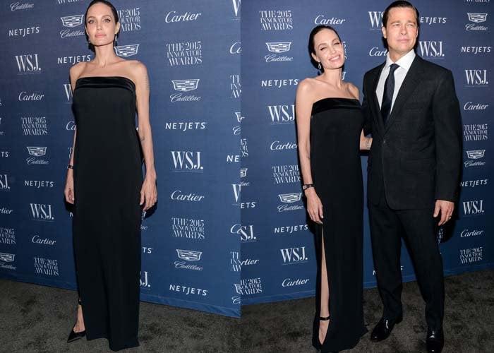 Angelina Jolie WSJ Magazine Bow Pumps 2