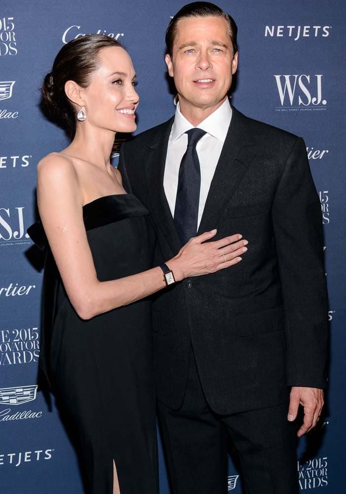 Angelina Jolie WSJ Magazine Bow Pumps 4