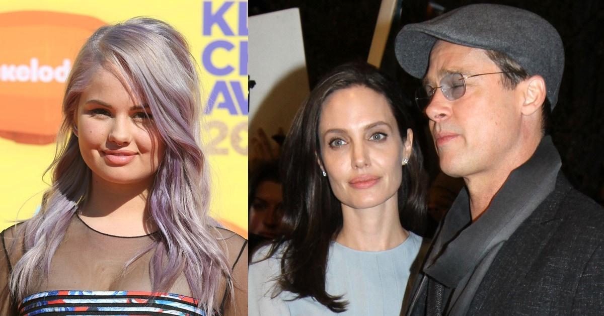 "a32e45ebf34f Angelina Jolie and Debby Ryan in Stuart Weitzman ""Heist"" Pumps"