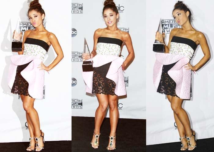 Ariana Grande AMA Dsquared2 2