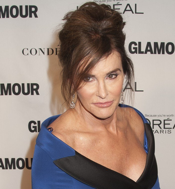 Caitlyn Jenner at the Glamour 2015 Women Of The Year Awards held at Carnegie Hall in New York City on November 9, 2015