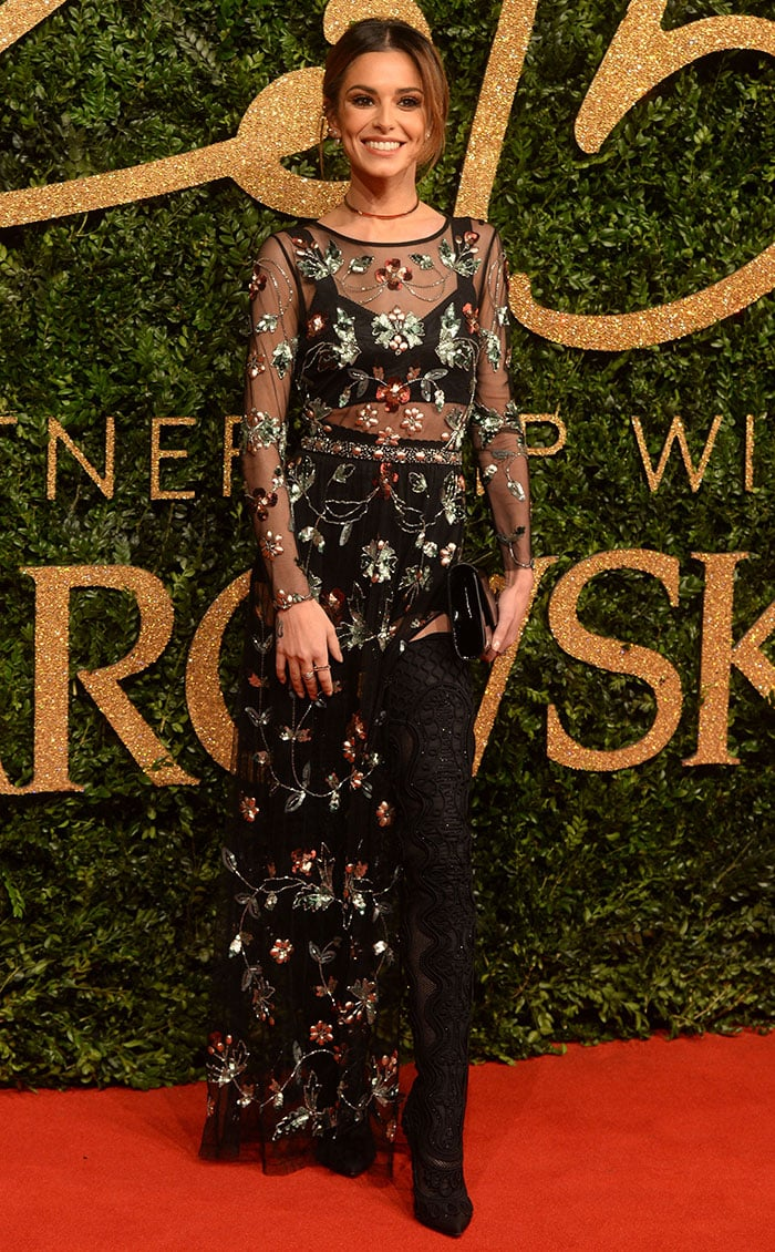 Cheryl Fernandez-Versini at The British Fashion Awards 2015 in London on November 23, 2015