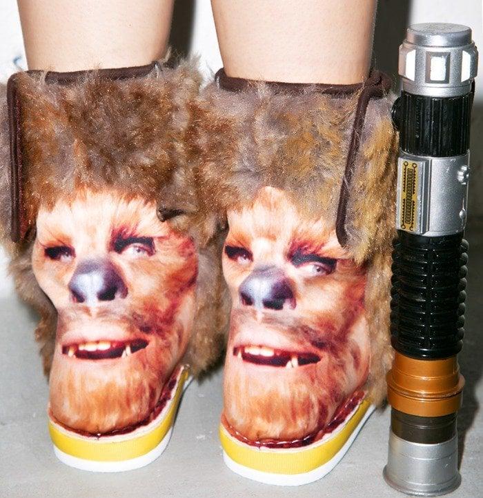 Chewbacca Boots
