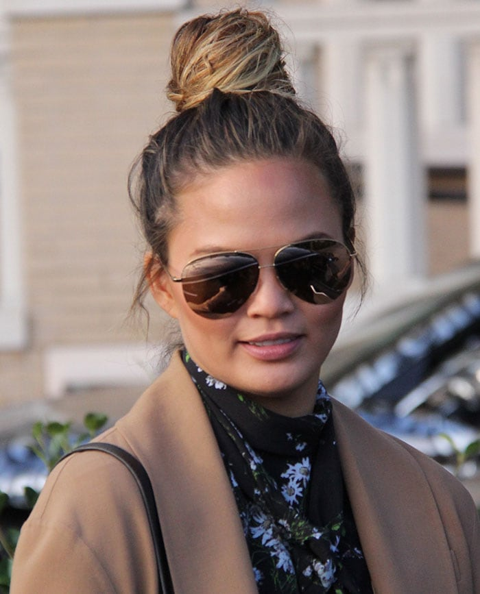 Chrissy Teigen indulging herself in a pre-Black Friday shopping spree
