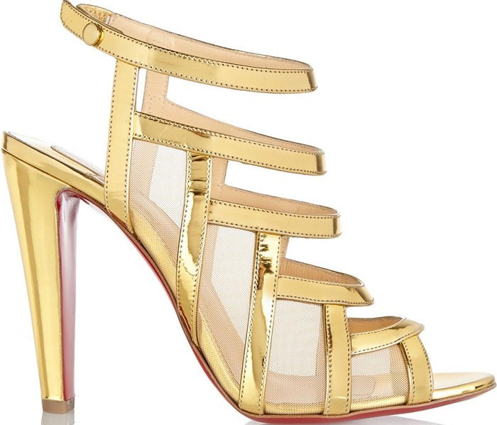 Christian-Louboutin-Nicobar-gold-leather-and-mesh-sandals