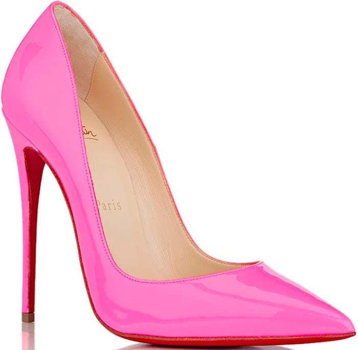 Christian Louboutin So Kate Pink Patent