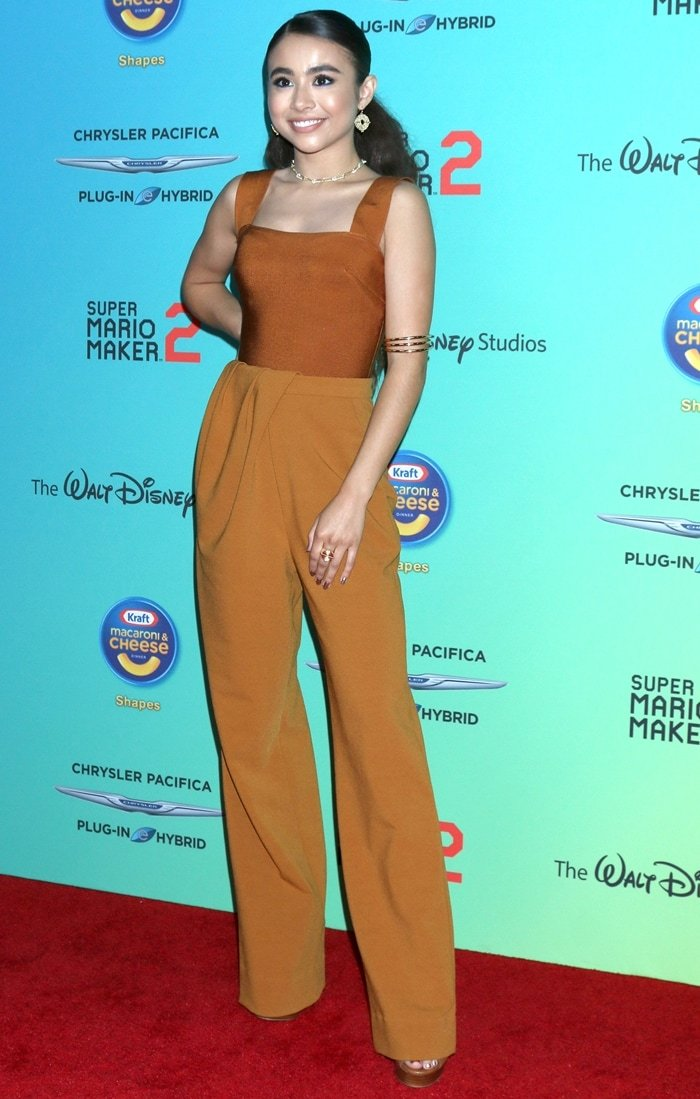 Ciara Riley Wilson attends the 2019 Radio Disney Music Awards