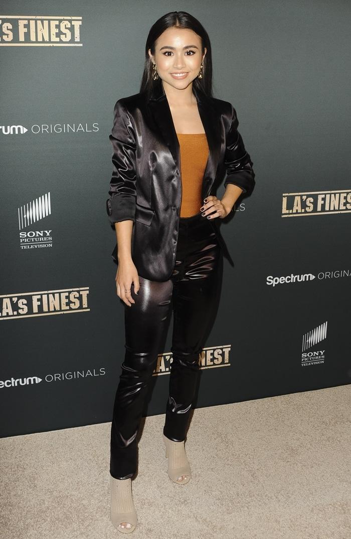 "Ciara Riley Wilson attends the premiere Of Spectrum's Originals ""L.A.'s Finest"""