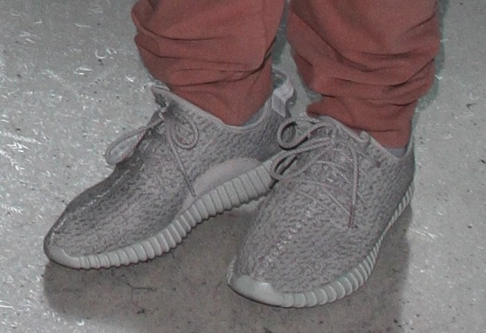 Corey in Yeezy Boost
