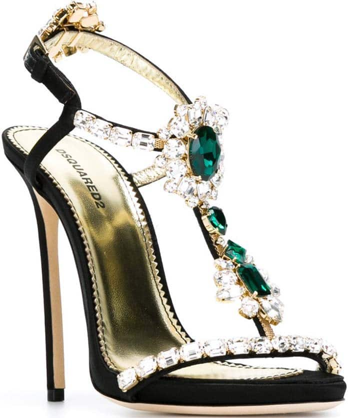 DSquared2 Queen Mary Black