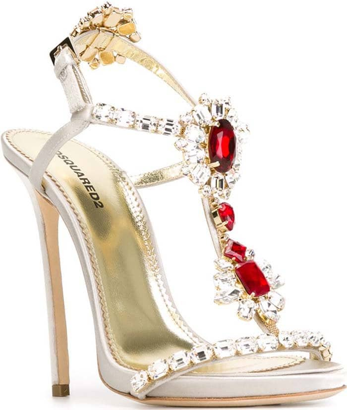 DSquared2 Queen Mary White