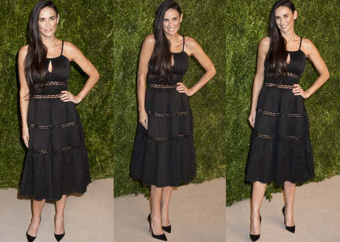 Demi Moore CFDA Vogue Louboutin 2