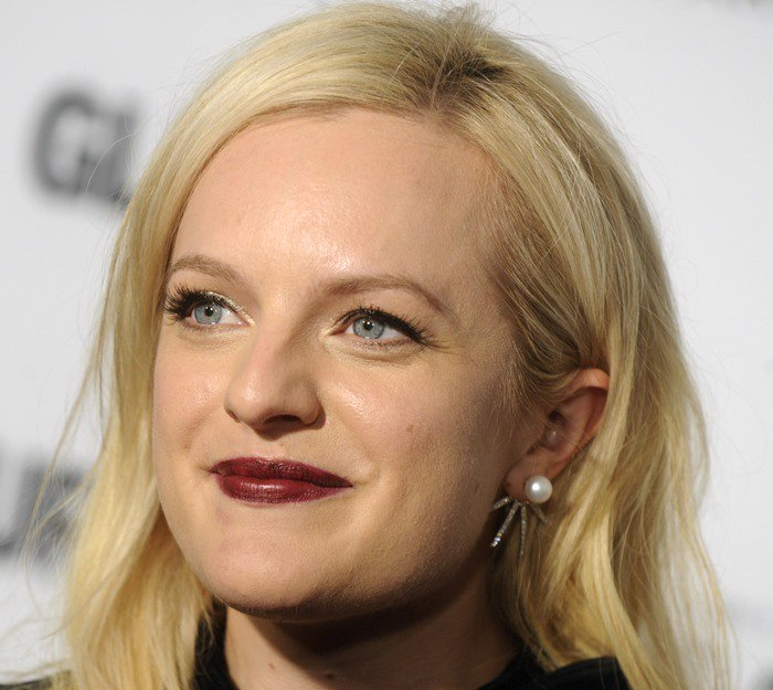 Elisabeth Moss at the 2015 Glamour Women Of The Year Awards held at Carnegie Hall in New York City on November 9, 2015