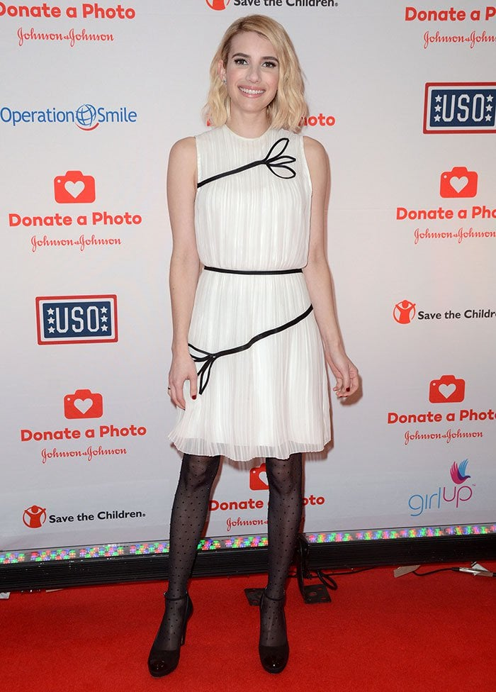 Emma-Roberts-Donate-A-Photo-Holiday-Kick-Off-Event