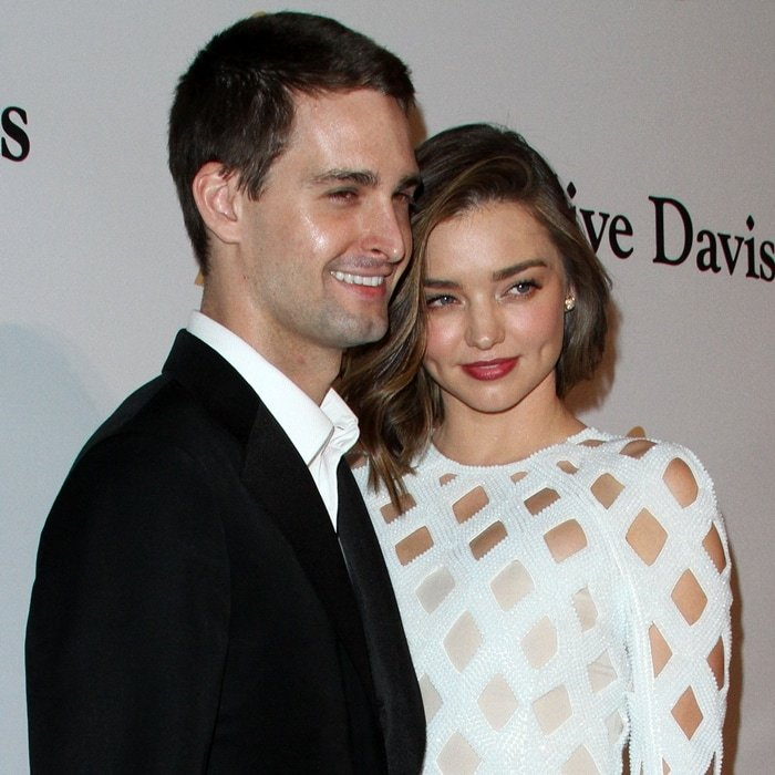 Miranda Kerr has been accused of being a gold digger after marrying Evan Spiegel