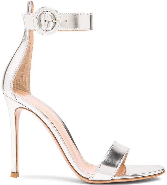 Gianvito Rossi Metallic Sandals
