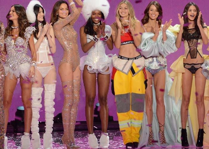 Gigi Hadid Victorias Secret Brian Atwood 6