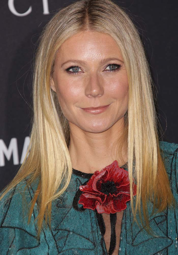 Gwyneth Paltrow at the LACMA 2015 Art+Film Gala honouring James Turrell And Alejandro G Inarritu, presented by Gucci, in Los Angeles on November 9, 2015