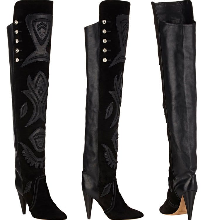 """Isabel Marant """"Becky"""" Over-the-Knee Boots"""
